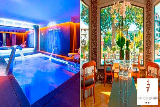 Nuevo menú del Gran Hotel Durango con degustación de 8 recetas y opción a circuito spa ¡Experiencia gastronomica y relajante en un hotel de lujo!
