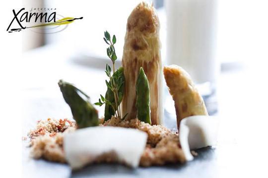 Dale un capricho a tu paladar con un menú degustación en Xarma Jatetxea ¡Te sorprenderá!