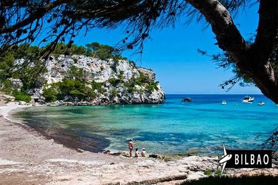 Vuelo a Menorca de Bilbao + 7 noches en estudio ¡Elige tu fecha!