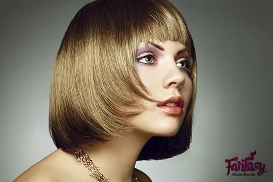 ¡Olvídate del pelo encrespado! Tratamiento de Keratina sin formol + Hidratación intensa + Peinado en Centros Fantasy Barreda