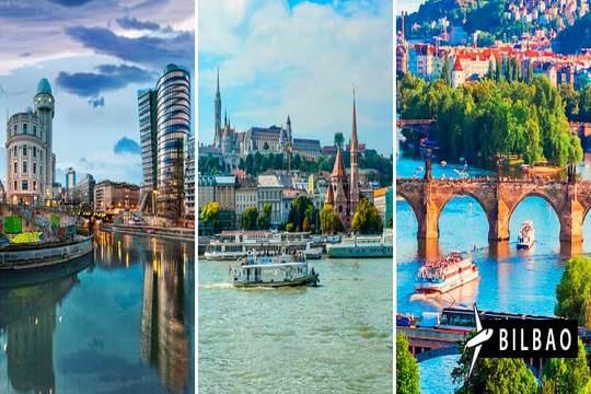 Combinado Budapest, Viena y Praga ¡7 noches con vuelo de Bilbao!