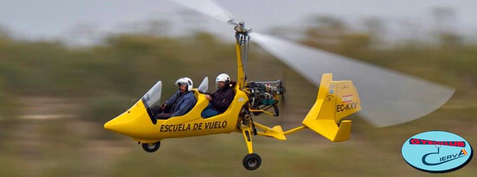 Conviértete en Piloto de Autogiro y vuela libre