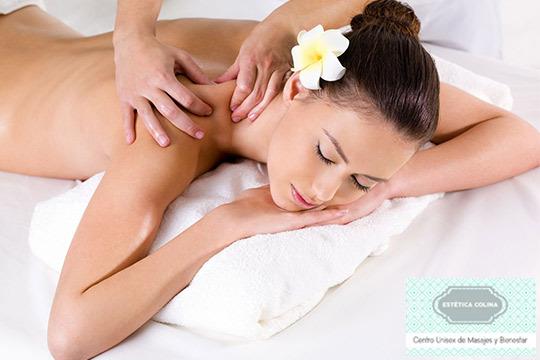 Si la tensión y el agarrotamiento te pasan factura en tu día a día, diles adiós con 1 o 3 masajes en la Clínica Estética Colina