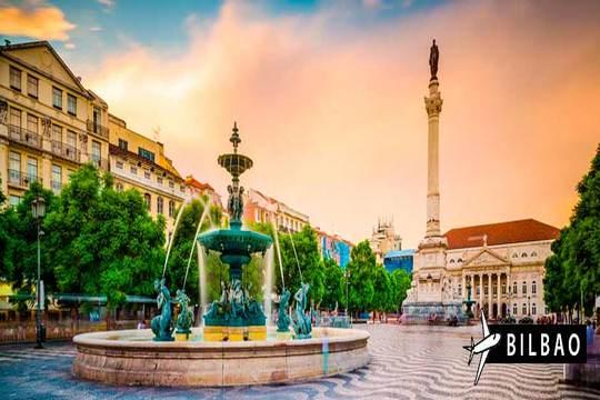 Noviembre a Lisboa: Vuelo desde Bilbao + 3 noches con desayunos