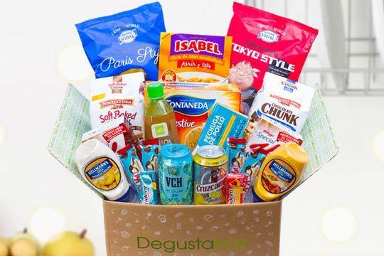 Descubre nuevos sabores con la caja Degustabox ¡Cada mes una caja diferente con productos de las primeras marcas de alimentación del mercado!