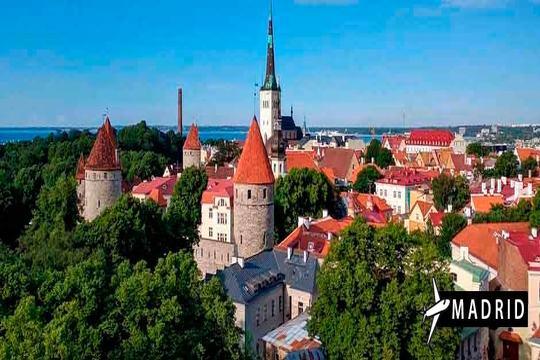 Descubre los países bálticos este verano ¡Vuelo de Madrid + 7 noches con desayunos + excursiones!