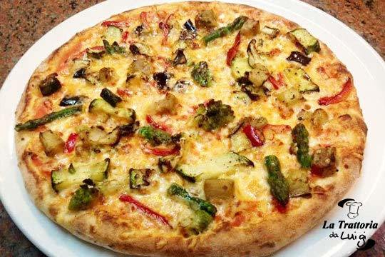 Cena en una auténtica trattoria italiana ¡Con pizza ilimitada!