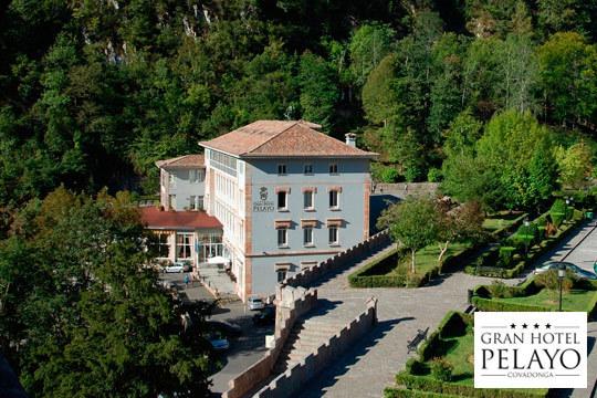 1 o 2 noches con desayunos en el hotel Gran Pelayo **** de Covadonga con entrada al museo de Covadonga ¡Desconecta en la bella Asturias!