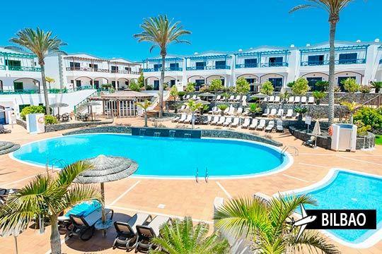 Relájate en las playas de Lanzarote: 7 noches en un hotel 4 estrellas con media pensión ¡Salidas en febrero o marzo desde Bilbao!