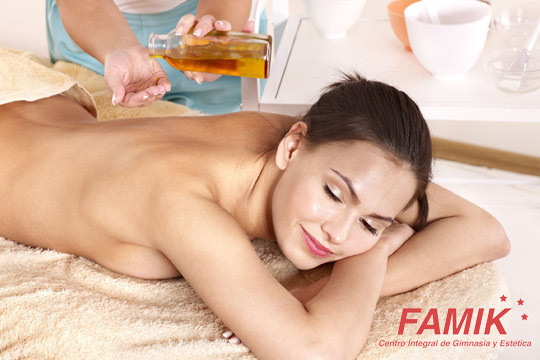 Masaje a elegir entre relajante, descontracturante o anticelulítico en Famik ¡La mejor manera de recuperar el bienestar o moldear tu figura!