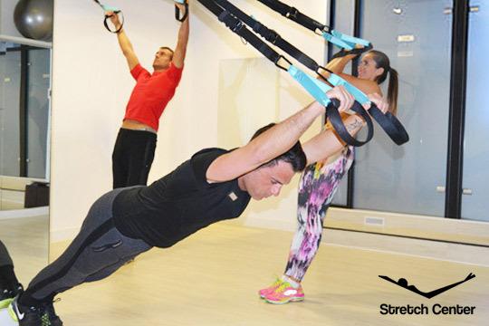 Mejora la condición física y alivia tus dolores y tensiones musculares con 8 clases de entrenamiento en suspensión o 4 de K-Stretch®