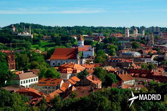 Descubre Lituania en enero y febrero on un vuelo a Vilnius + 3 o 4 noches en hotel con desayunos ¡Escapada a los países bálticos!