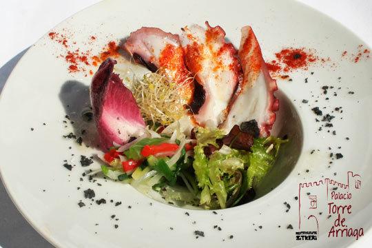 Menú degustación de otoño de 6 platos en Palacio Torre de Arriaga