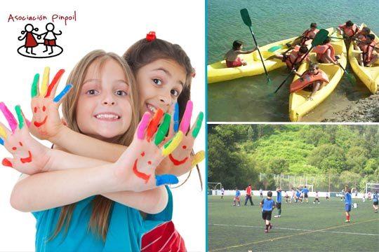 En el mes de agosto apunta a tus hijos al campus de multideporte o fútbol de Pinpoil en Getxo ¡De 9:30 a 17:30!