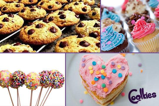 Curso presencial de Repostería Creativa: Aprende a elaborar cupcakes, tartas, cake pops, galletas decoradas... en Coolkies