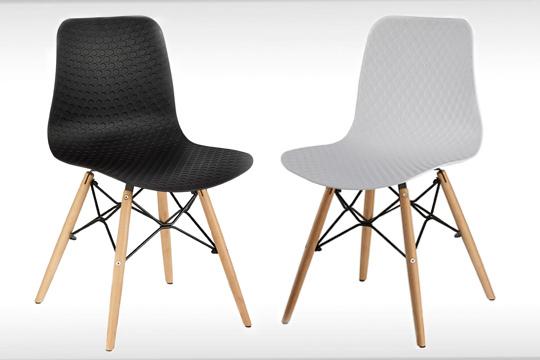 sillas de diseño pack de 2 o 4