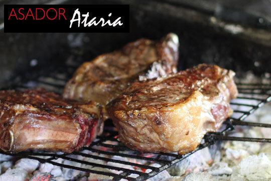 Exquisito menú degustación en Asador Ataria