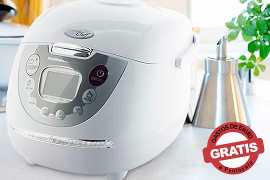 Prepara recetas riquísimas con el robot de cocina Master Chef ¡Con un diseño moderno y práctico!