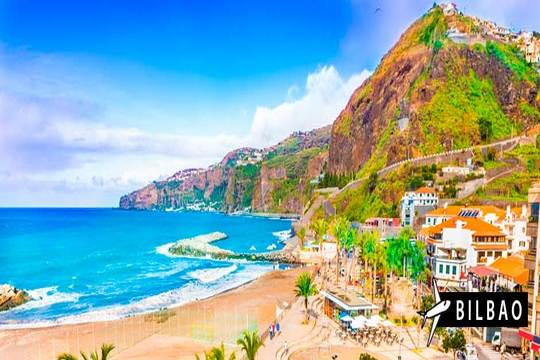 ¡Última hora a Madeira! Vuelo de Bilbao + 7 noches en hotel con MP