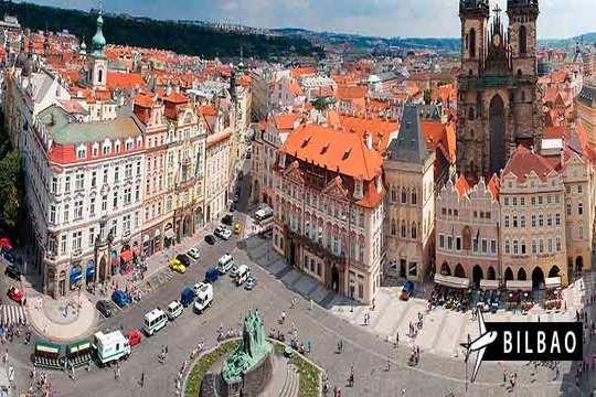 ¡Descubre Praga! Vuelo directo de Bilbao + 3 o 4 noches con desayunos