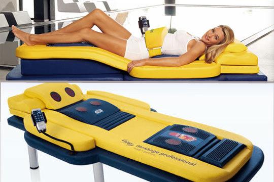 Recupera tu bienestar y pon fin a esos centímetros de más gracias a la cama de masaje de andulación y al lipoláser