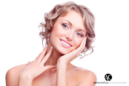 Luce un cutis cuidado y joven con 1, 3 o 5 sesiones de radiofrecuencia facial Indiba