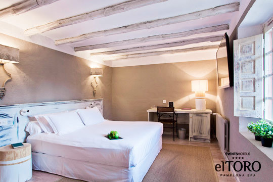 Escapada de lujo para relajarte en el El Toro Hotel & Spa**** en Pamplona ¡Noche con desayuno, sesión de Spa y opción a cena!