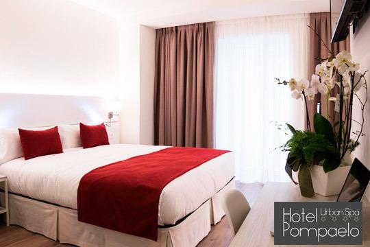 Disfruta de una escapada de lujo a Pamplona con una noche en el hotel Pompaelo Urban Spa **** ¡Incluye desayuno bufé y circuito!