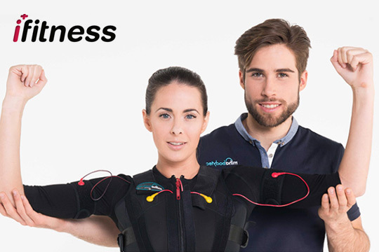 2 sesiones de Electroestimulación + Acceso ilimitado al gimnasio en iFitness Plus (Abando) ¡Ponte en forma con sesiones de 25 minutos!