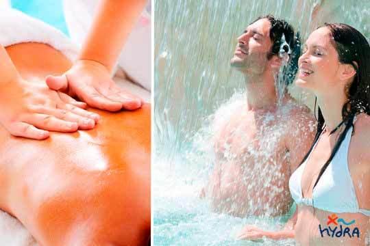 Masaje relajante + Limpieza facial + circuito spa en Hydra ¡Ponte guap@ a la vez que te relajas!