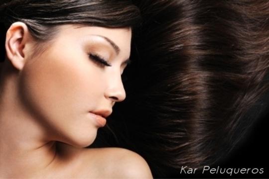 ¡Hidratación con productos botánicos para tu cabello! Masaje con aceites esenciales + Lavado con masaje capilar + Aplicación de cremas hidratantes + Peinado