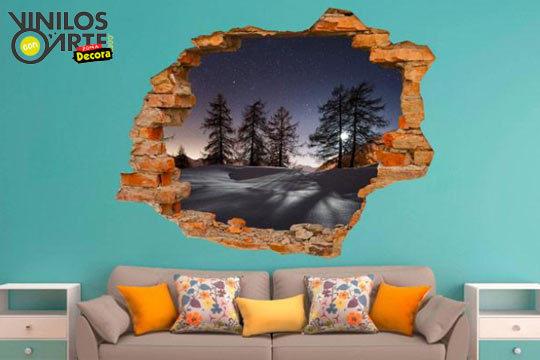 Colectivia vinilos con arte vinilos de pared con efecto 3d muchos modelos a elegir - Vinilo huesca ...