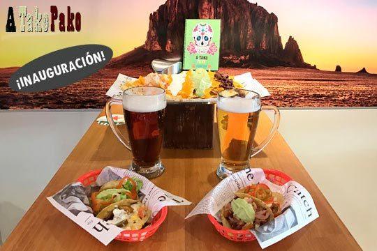 Menú Mexicano para 2 en A Tako Pako (García Rivero o Plaza Nueva)