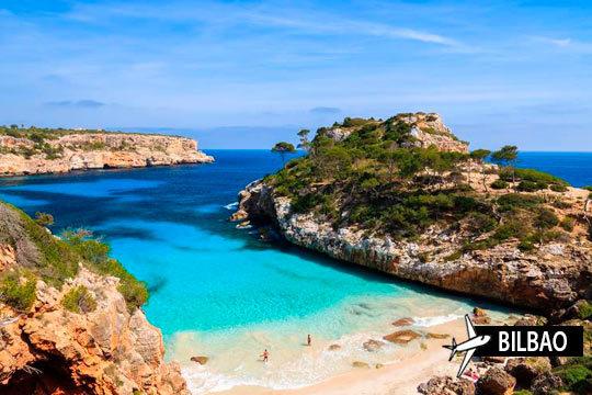 En mayo relájate en las costas de Mallorca con 7 noches en pensión completa ¡y vuelo de Bilbao!