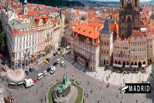 Septiembre y octubre en Praga ¡Vuelo + 3 noches con desayunos en hotel!