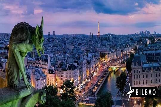 Mayo y junio a París: Vuelo de Bilbao + 3 noches con desayuno