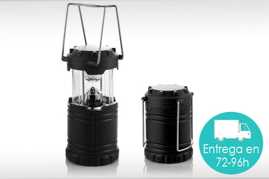 Ilumina tus noches en la intemperie con esta fantástica linterna farolillo ¡Con 36 luces Led!
