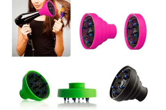Difusor de silicona para secador de pelo