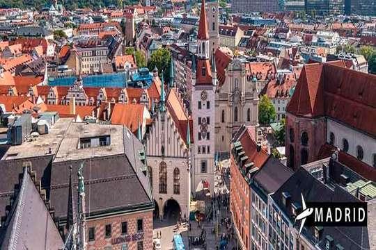Octubre y noviembre a Munich ¡Vuelo + 3 noches con desayunos!