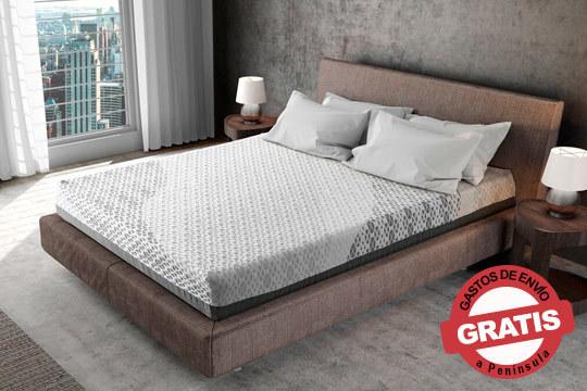 Consigue un descanso de calidad con este colchón de 24 cm y dos firmezas independientes por cada cara ¡Relájate y elimina cualquier tensión acumulada durante el día!