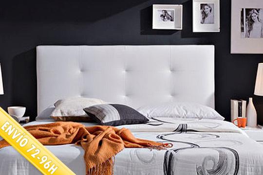Cabecero de cama tapizado modelo Carla