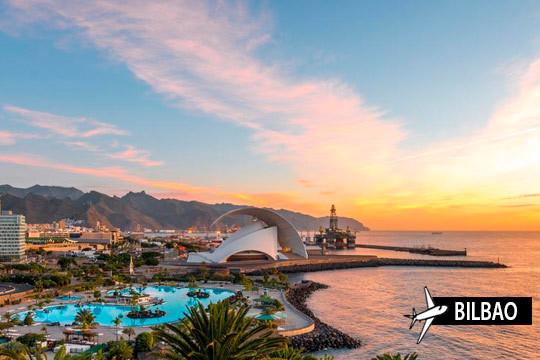 ¡Disfruta de la mejor de las islas este verano! Vuelo de Bilbao a Tenerife + 7 noches en estudio para unas vacaciones inolvidables