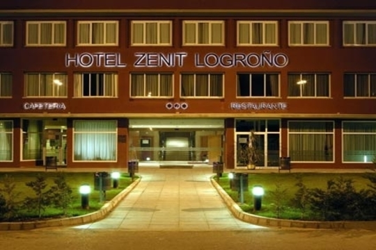 Colectivia hotel zenit noche con desayuno en hotel for Hotel bodega logrono