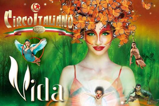 No te pierdas el increíble espectáculo Vida de Il Circo Italiano ¡Sorprenderá a pequeños y mayores!