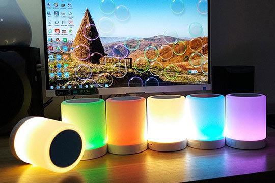 Lampara RGB Altavoz