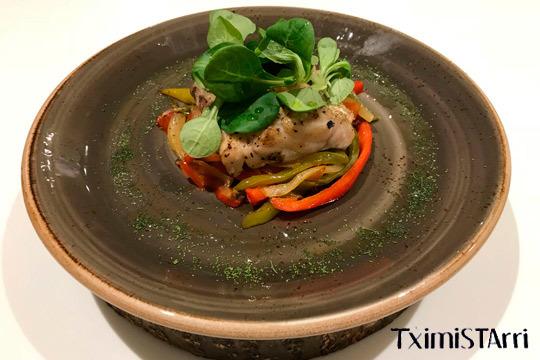 Menú degustación de 7 recetas andaluzas en Tximistarri