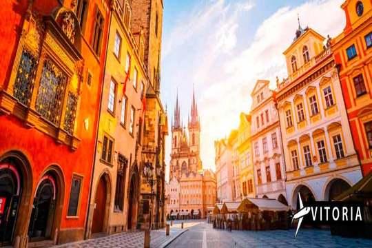 06/12 a Praga ¡Vuelo de Vitoria + 3 noches + desayunos + visita!