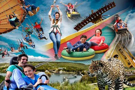 Disfruta de 1 o 2 días en Sendaviva: animales, atracciones, actividades acuáticas... ¡Y ahora mucha magia!