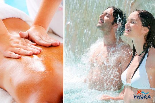 Tómate un día de relax en Hydra Vitoria con un circuito Spa y un masaje con aceites esenciales ¡Para 1 o 2 personas!