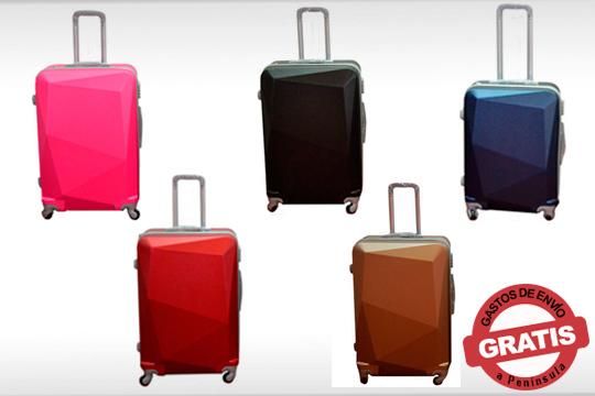 Viaja por todo el mundo con este set de 3 maletas de gran calidad ¡Con 4 ruedas y tirador de aluminio!